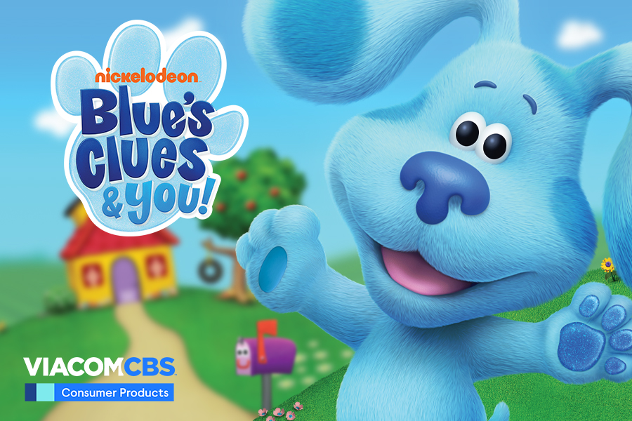 BLUES CLUES AND YOU!