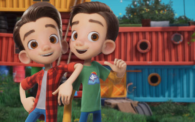 SINKING SHIP AND SCOTT BROTHERS TAP NELVANA TO DISTRIBUTE BUILDER BROTHERS' DREAM FACTORY