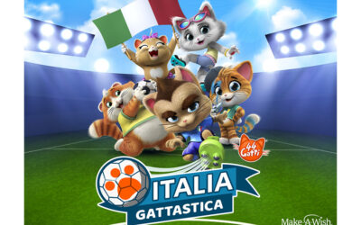 44 CATS & MARCO VERRATTI JOIN FORCES FOR ITALY'S UEFA FOOTBALL TEAM!
