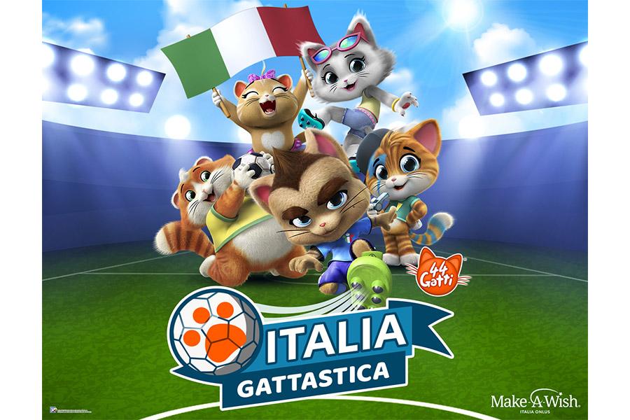 44 GATTI & MARCO VERRATTI PER UN'ITALIA GATTASTICA!