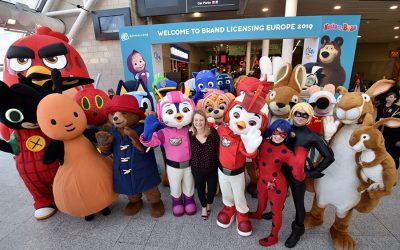 BRAND LICENSING EUROPE'S MUCH-LOVED CHARACTER PARADE RETURNS IN-PERSON