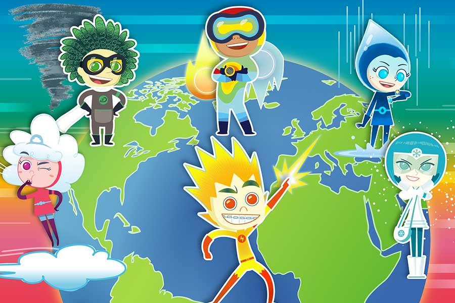 MONDO TV IBEROAMERICA PRESENTS: METEOHEROES – THE VIDEO GAME!