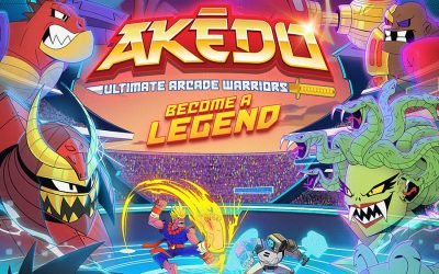 """MOOSE TOYS DELIVERS A TRIPLE THREAT WITH A NEW """"AKEDO – ULTIMATE ARCADE WARRIORS"""" FRANCHISE"""