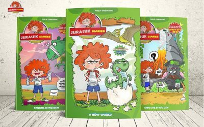 ENANIMATION ACQUIRES THE RIGHTS TO DEVELOP THE ANIMATED SERIES JURASSIK DIARIES