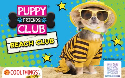 THIS SUMMER IN RICCIONE A THEMED PUPPY CLUB FRIENDS BEACH CLUB