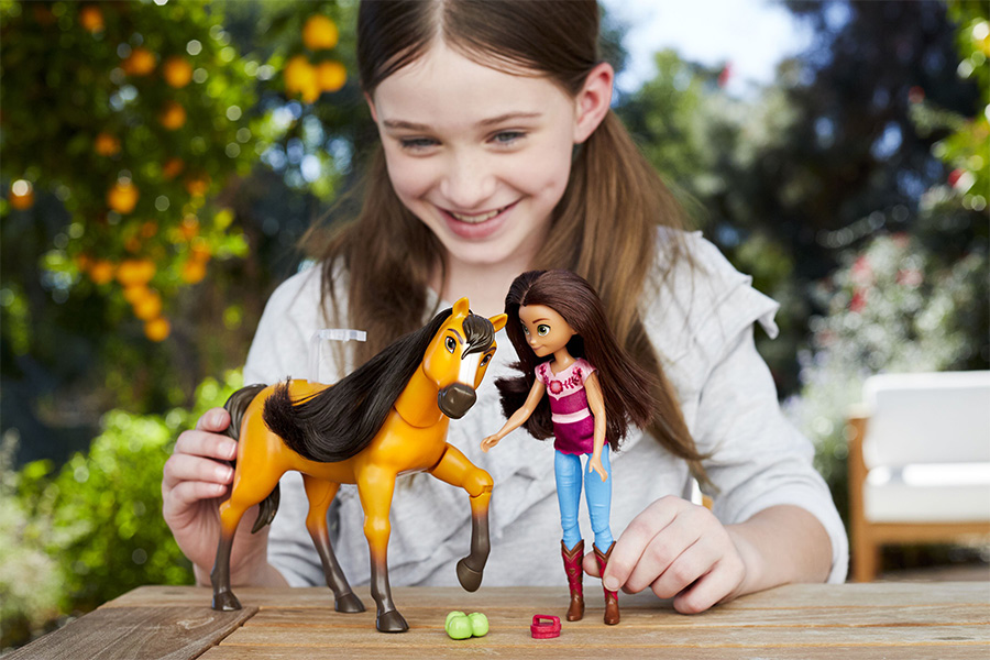 DREAMWORKS ANIMATION'S SPIRIT UNTAMED RIDES INTO RETAIL ACROSS EMEA WITH AN ADVENTURE-FILLED LINEUP OF TOY AND LIFESTYLE COLLECTIONS