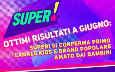 OTTIMI RISULTATI A GIUGNO PER SUPER!