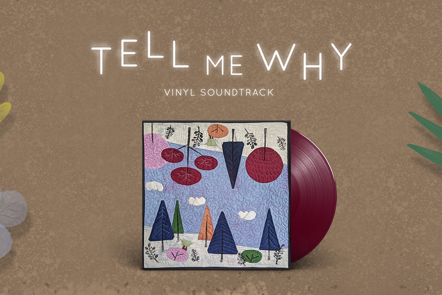 IAM8BIT BRINGS POIGNANT AND AIRY TELL ME WHY SOUNDTRACK TO VINYL