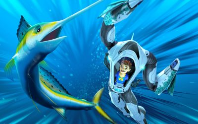 A STARK PRODUCTION, WILDBRAIN AND INFINITE STUDIOS DIVE INTO SEASON FOUR OF GLOBAL HIT ANIMATED SERIES THE DEEP