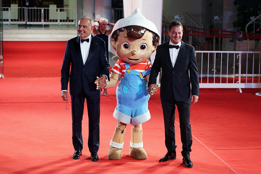 RAINBOW'S PINOCCHIO AND FRIENDS DEBUTS IN VENICE