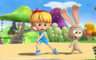 """INSPIRED BY CARROLL'S """"ALICE IN WONDERLAND"""", THE NEW ANIMATED SERIES ALICE & LEWIS"""