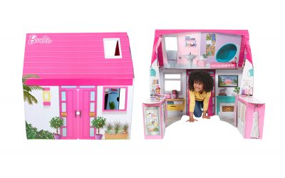 WOWWEE ADDS BARBIE DREAM PLAYHOUSE TO ITS LINE OF POP2PLAY FOLDABLE PLAYSETS