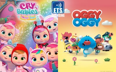 CRY BABIES MAGIC TEARS AD OGGY OGGY: THE NEW PRESCHOOL HITS OF ETS LICENSING