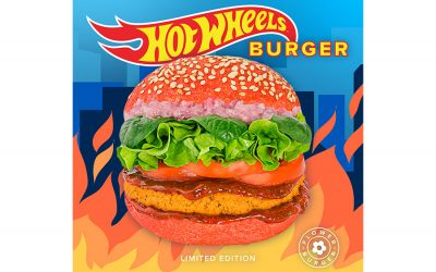 THE HOT WHEELS BURGER HAS ARRIVED AT FLOWER BURGER!