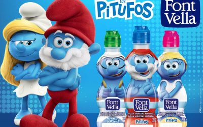 THIS YEAR FONT VELLA AND THE SMURFS MAKE BACK TO SCHOOL FUN