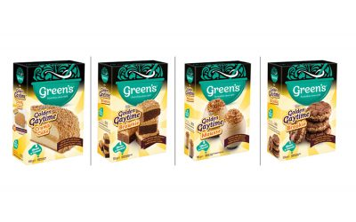 GREEN'S AND STREETS GOLDEN GAYTIME 'CRUMB' TOGETHER FORTHE ULTIMATE CAKE COLLABORATION