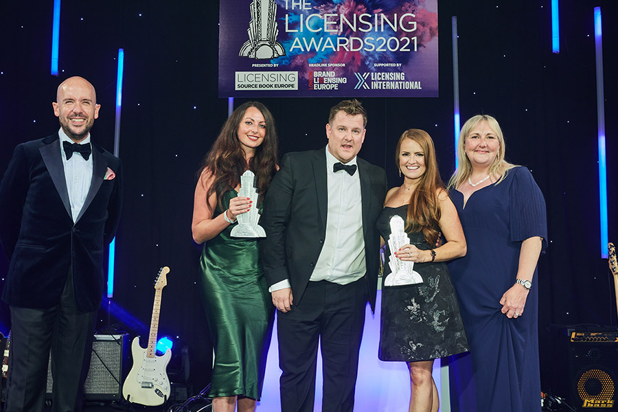 THE LICENSING AWARDS 2021: THE WINNERS