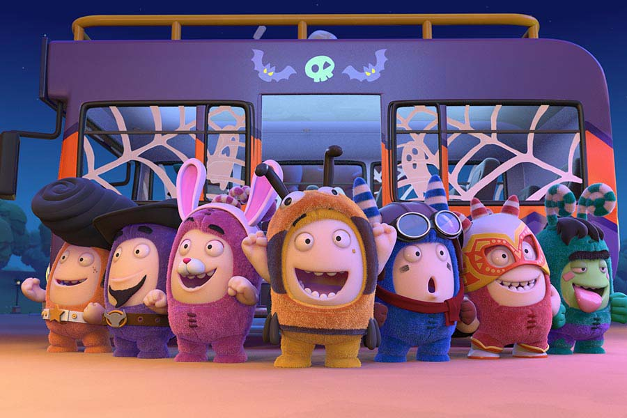 ONE ANIMATION'S ODDBODS CASTS A SPELL ON ARGOS WITH HALLOWEEN 'RETAIL-TAINMENT'