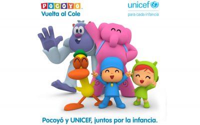 POCOYO E UNICEF INSIEME PER I DIRITTI DEI BAMBINI PIÙ VULNERABILI