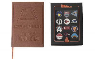 ICONIC ANDERSON ENTERTAINMENT SHOWS INSPIRE NEW COLLECTOR PIN BADGE SETS AND NOTEBOOKS