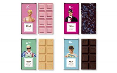 ZAINI MILANO CELEBRATES KEN'S 60TH ANNIVERSARY WITH FOUR CULT CHOCOLATE BARS