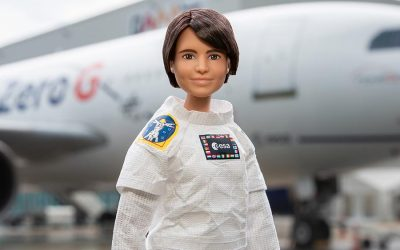ON THE OCCASION OF WORLD SPACE WEEK, BARBIE IS GOING ZERO GRAVITY!