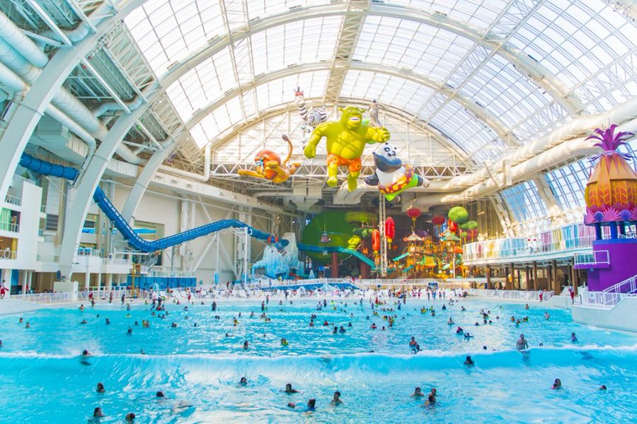 WORLD WATERPARK ASSOCIATION HONORS DREAMWORKS WATER PARK AT AMERICAN DREAMWITHLEADING EDGE AWARD