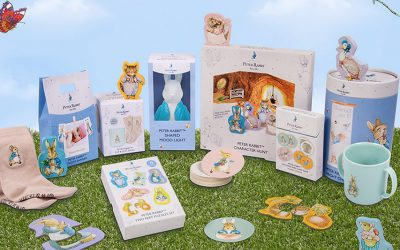 FIZZ CREATIONS HOPS IN WITH PETER RABBIT™