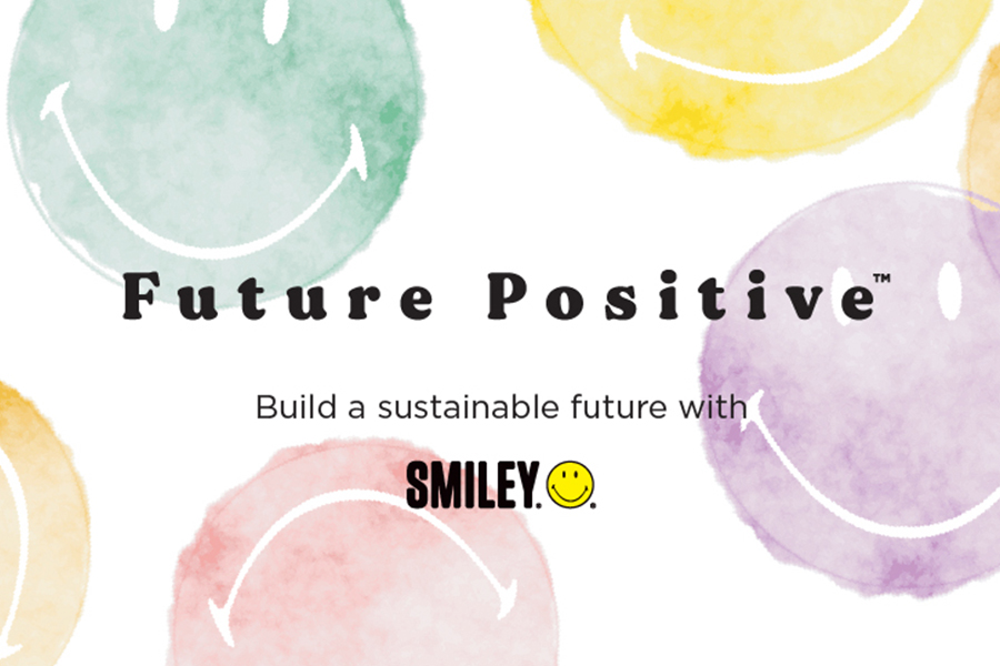 SMILEY BECOMES THE FIRST BRAND EXTENSTION PLATFORM TO PROMOTE SUSTAINABILITY