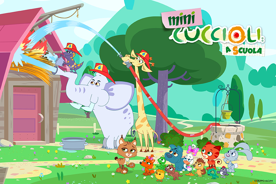 IN THE NEW SEASON OF MINI PET PALS THE SCHOOL TEACHES TO BE CURIOUS, TO PARTICIPATE AND ALSO TO MAKE MISTAKES