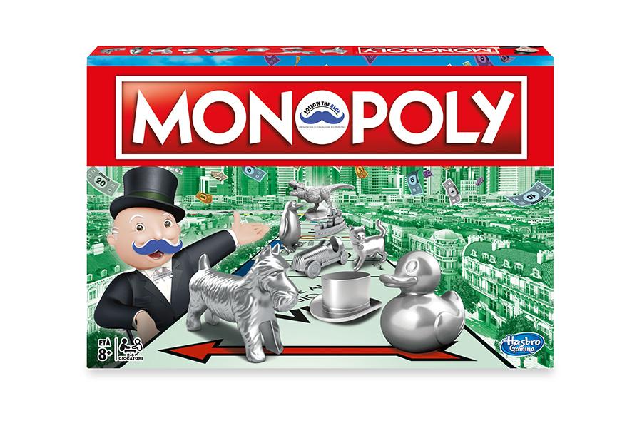 NOVEMBER IS MEN'S PREVENTION MONTH: MR. MONOPOLY'S MOUSTACHE TURNS BLUE. MONOPOLY'S MOUSTACHE TURNS BLUE