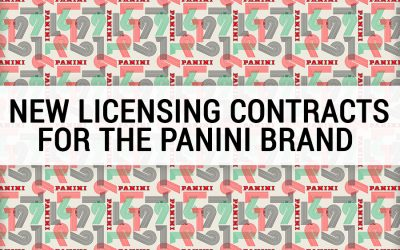NEW LICENSING CONTRACTS FOR THE PANINI BRAND