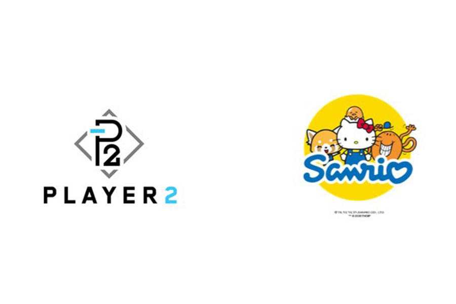 SANRIO PARTNERS WITH PLAYER 2