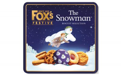 THE SNOWMAN X FOX'S BISCUITS