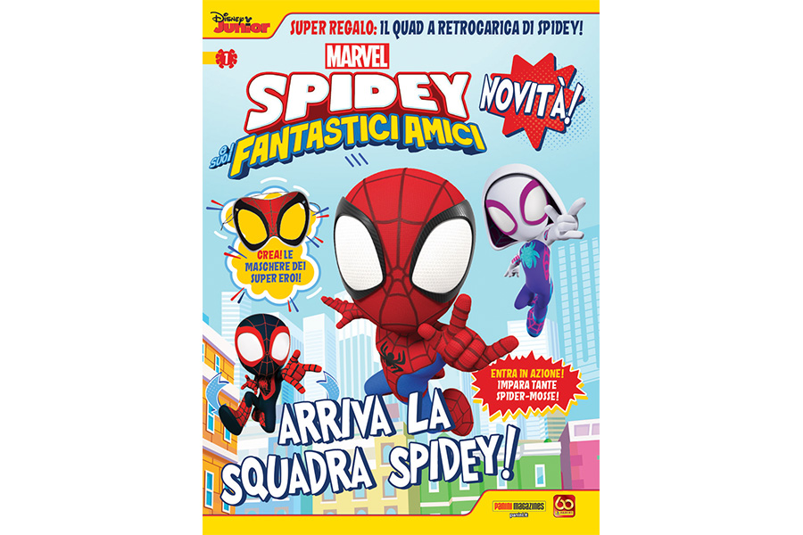 SPIDEY AND HIS FANTASTIC FRIENDS
